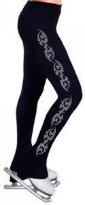 Skating Pants with Rhinestones R148