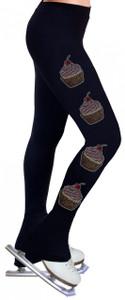 Skating Pants with Rhinestones R154