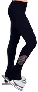 Skating Pants with Rhinestones R174