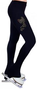 Skating Pants with Rhinestones R195