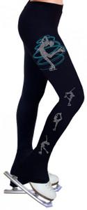 Skating Pants with Rhinestones R248
