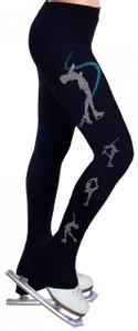 Skating Pants with Rhinestones R249