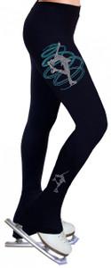 Skating Pants with Rhinestones R252