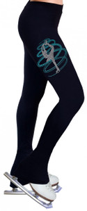 Skating Pants with Rhinestones R254