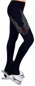 Skating Pants with Rhinestones R08
