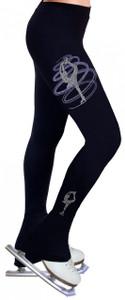 Skating Pants with Rhinestones R255LP - Light Purple