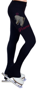 Skating Pants with Rhinestones R405