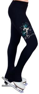 Skating Pants with Spangles S100
