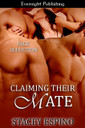 Genre: Paranormal Menage a Cinq  Heat Level: 4  Word Count: 23, 222  ISBN: 978-1-926950-42-6  Editor: Marie Buttineau  Cover Artist: LF Designs