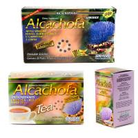 Alcachofa Express Kit - Ampolletas Te y Capsulas para 30 Dias