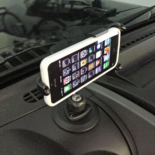 Jeep Wrangler iPhone Mount PED4-Mount-CH50