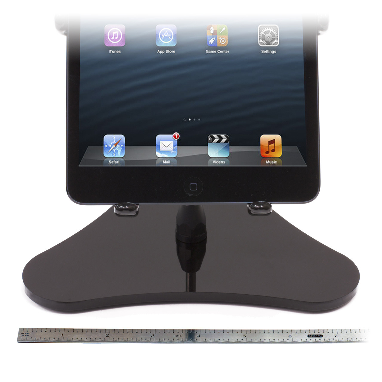 iPad mini stand with 7.75 Base