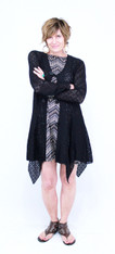 Fairy Cardigan (Black Lace)