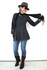 Cosette Coat (Charcoal)