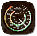 Air Speed Indicator Wall Thermometer - 9061