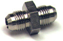 Union Flared Tube Fitting, O.D. 1/8, Thread Size 5/16-24 - AN815-2D