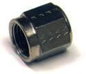 Nut - Coupling, Aluminum, O.D. 3/16, Thread Size 3/8-24, (5 per pack) - AN818-3D
