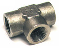 Tee, Internal, Pipe Thread, Aluminum, Thread Size 3/8 - AN917-3D