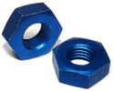 Nut - Flared Tube, Bulkhead and Universal Fitting, Aluminum, Tube O.D 3/16, Thread Size 3/8-24 - AN924-3D, Sold Each