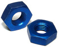 Nut - Flared Tube, Bulkhead and Universal Fitting, Aluminum, Tube O.D 1/4, Thread Size 7/16-20 - AN924-4D, Sold Each