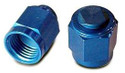 Cap, Flared Tube Fitting, Aluminum, Tube O.D 1/4, Thread Size 7/16-20 - AN929-4D