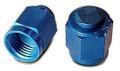 Cap, Flared Tube Fitting, Aluminum, Tube O.D 3/8, Thread Size 9/19-18 - AN929-6D
