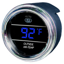 Digital Outside air temp sensor in Blue
