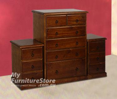 3 Piece chest set