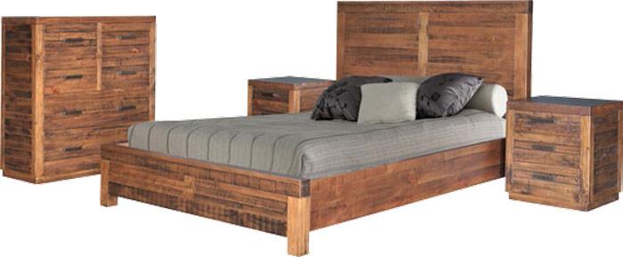 Auckland queen 4 piece tallboy bedroom suite 3391 for Bedroom furniture auckland