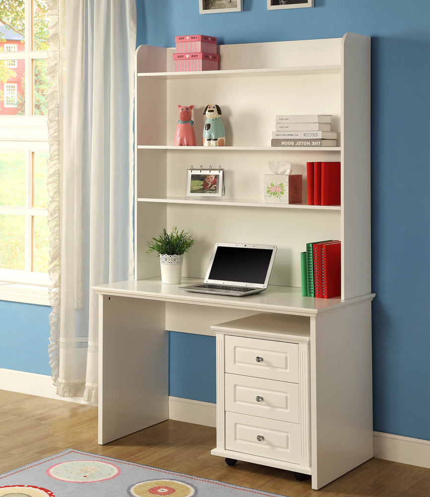 Verona BE 563 Desk & Hutch ly Excl Mobile Drawers