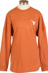 Burnt Orange Hook 'Em Horns Spirit Jersey