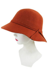 Burnt Orange Hat