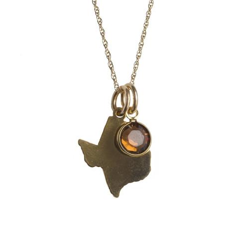 Gold Texas Necklace