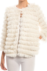 White Tiered Jacket