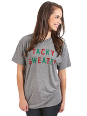 tacky sweater tee