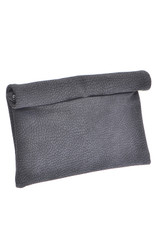 Black Roll Up Clutch