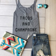 tacos and champagne tank
