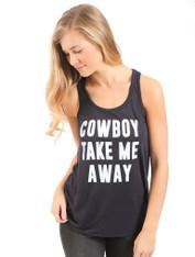 Cowboy Take Me Away Tank