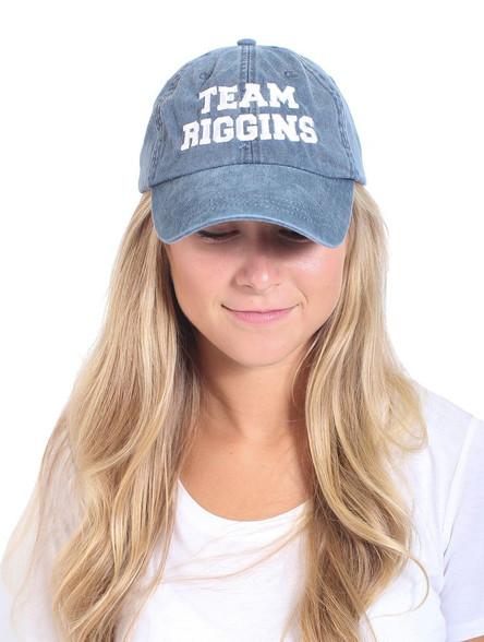 team riggins hat