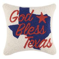God Bless Texas Pillow
