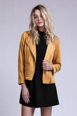 Mustard Moto Jacket