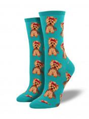 Emerald Yorkie Socks