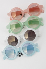 Round Transparent Sunnies