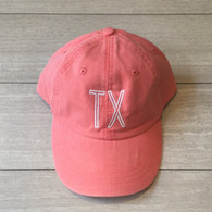 coral TX hat