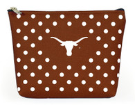 Burnt Orange Makeup Bag