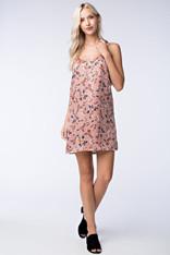 Blush Floral Print Dress