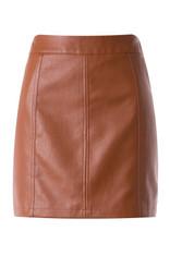 Camel High Waist Skirt
