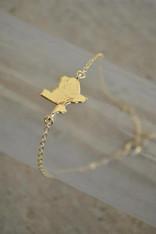 Gold Texas Bracelet