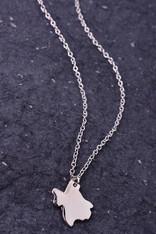 Silver Texas Necklace