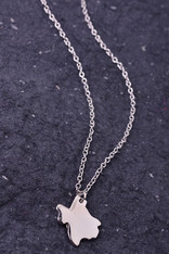 Silver Texas Necklace